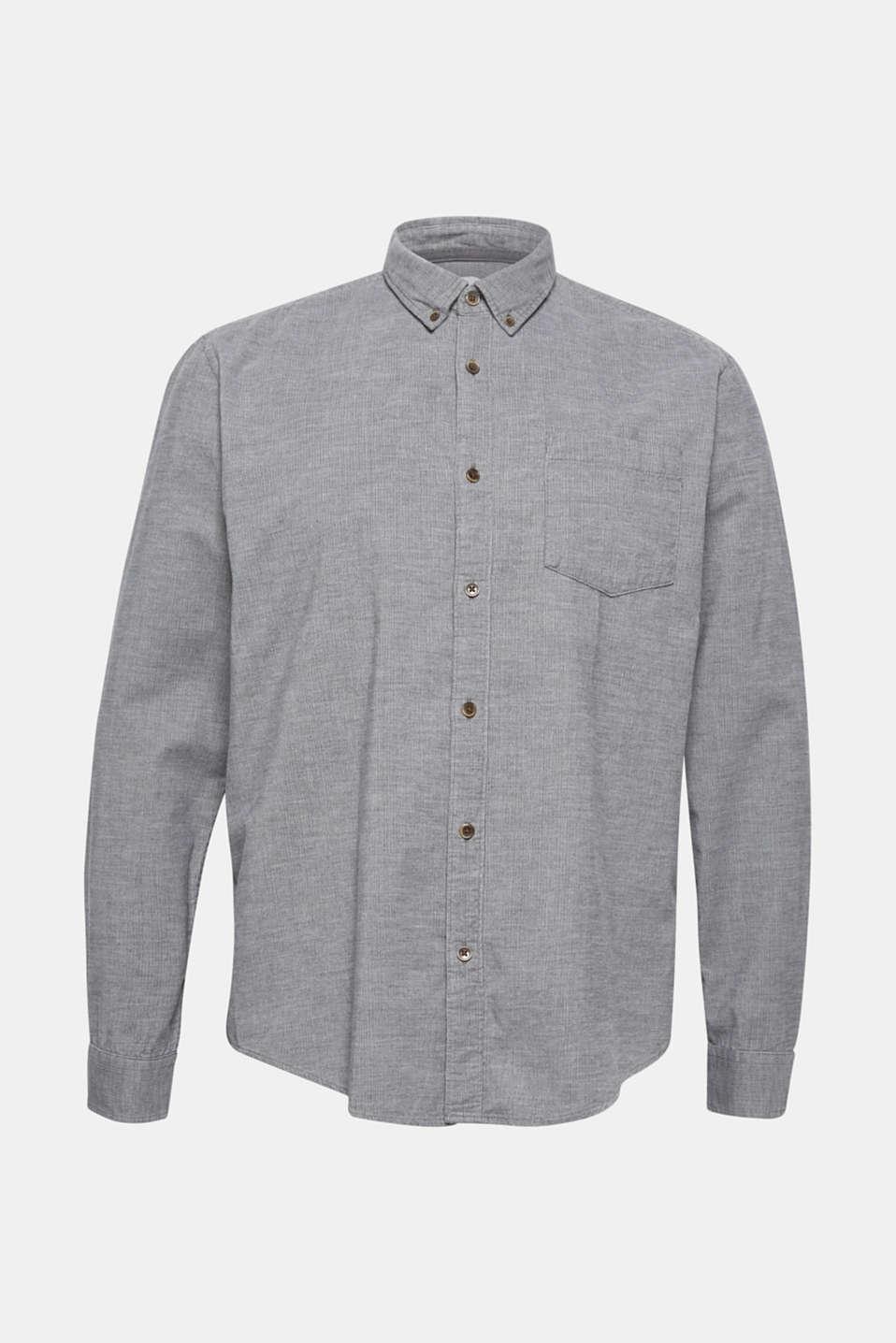 Shirts woven Regular fit, MEDIUM GREY, detail image number 7