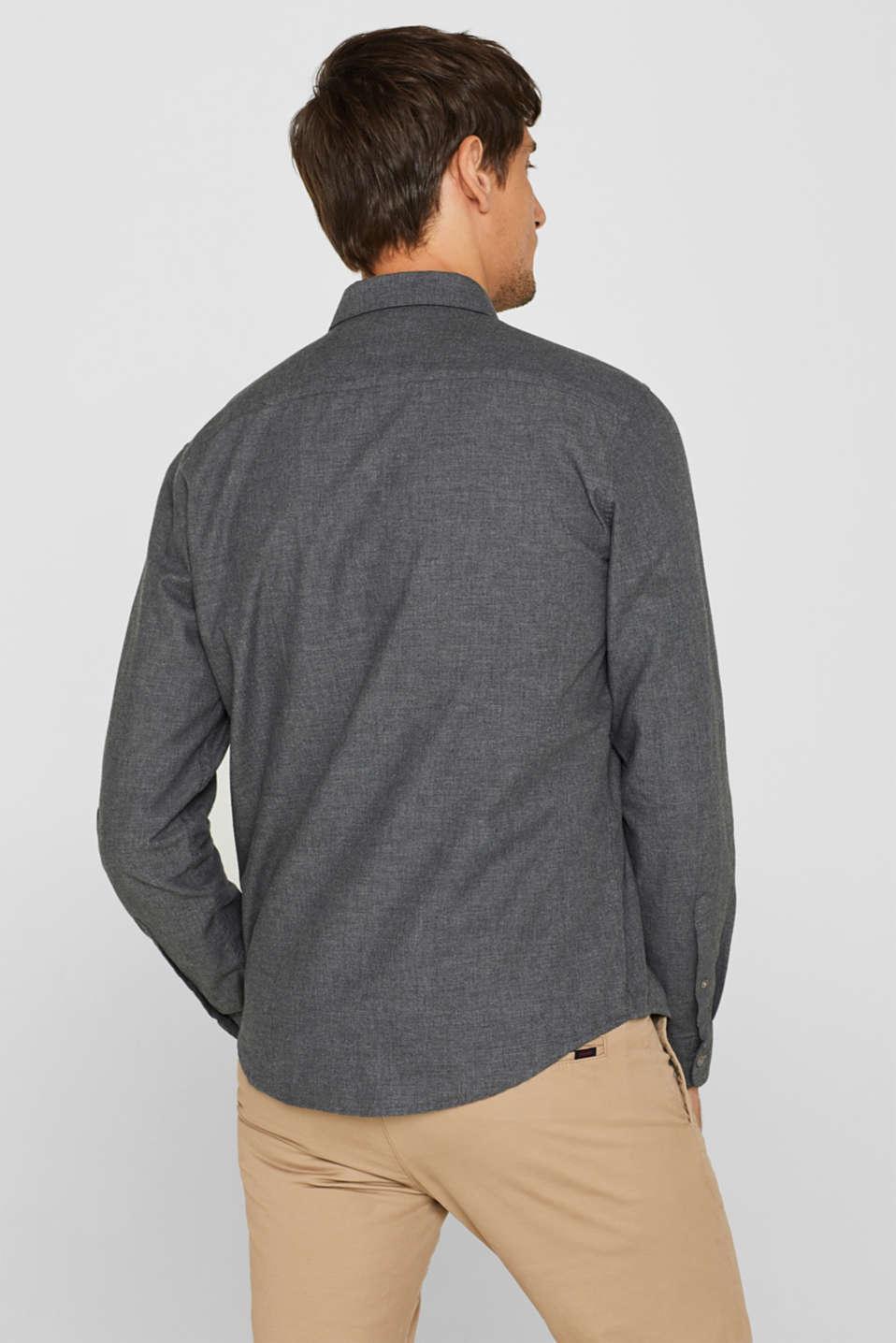 Shirts woven Regular fit, DARK GREY, detail image number 3