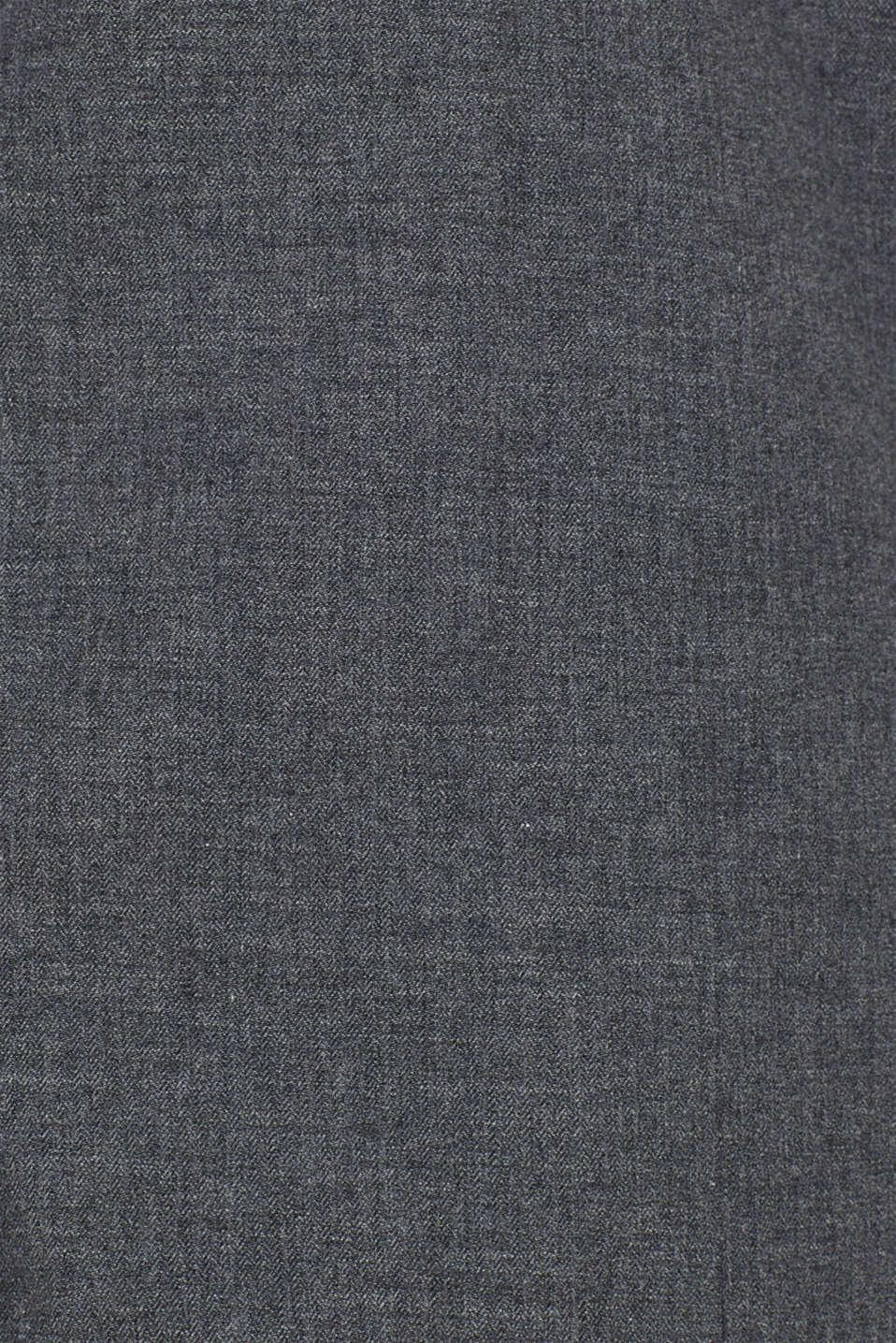 Shirts woven Regular fit, DARK GREY, detail image number 4