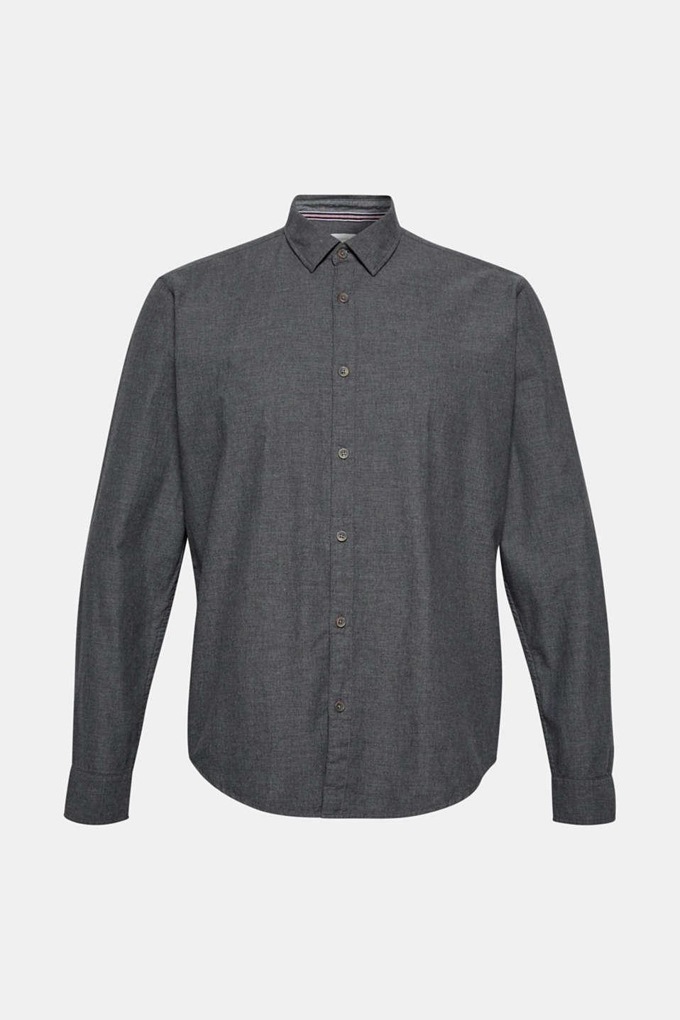 Shirts woven Regular fit, DARK GREY, detail image number 5