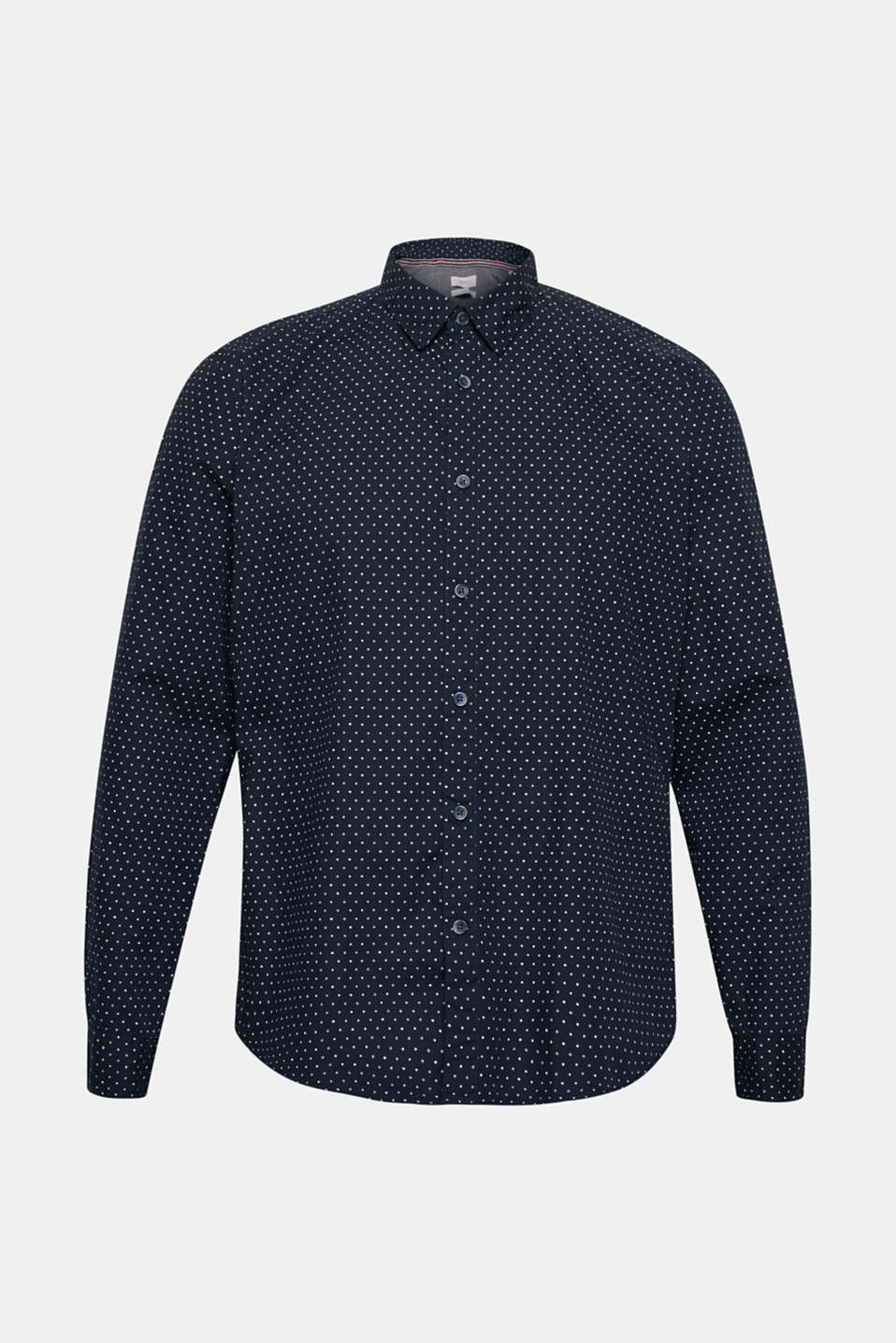Shirts woven Slim fit, NAVY, detail image number 7