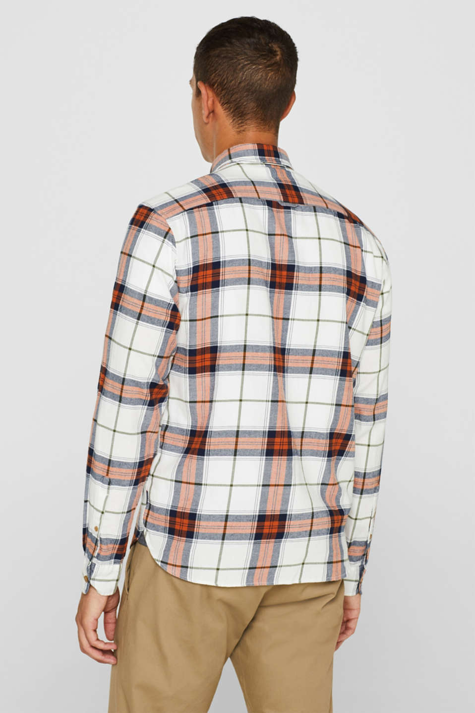 Shirts woven Regular fit, OFF WHITE, detail image number 3