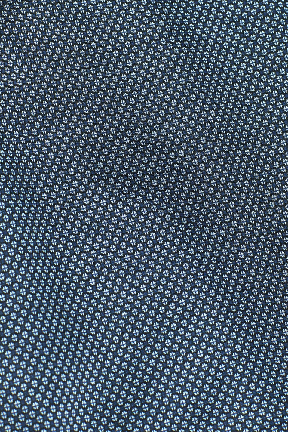 Shirt with a diamond pattern, 100% cotton, NAVY, detail image number 4