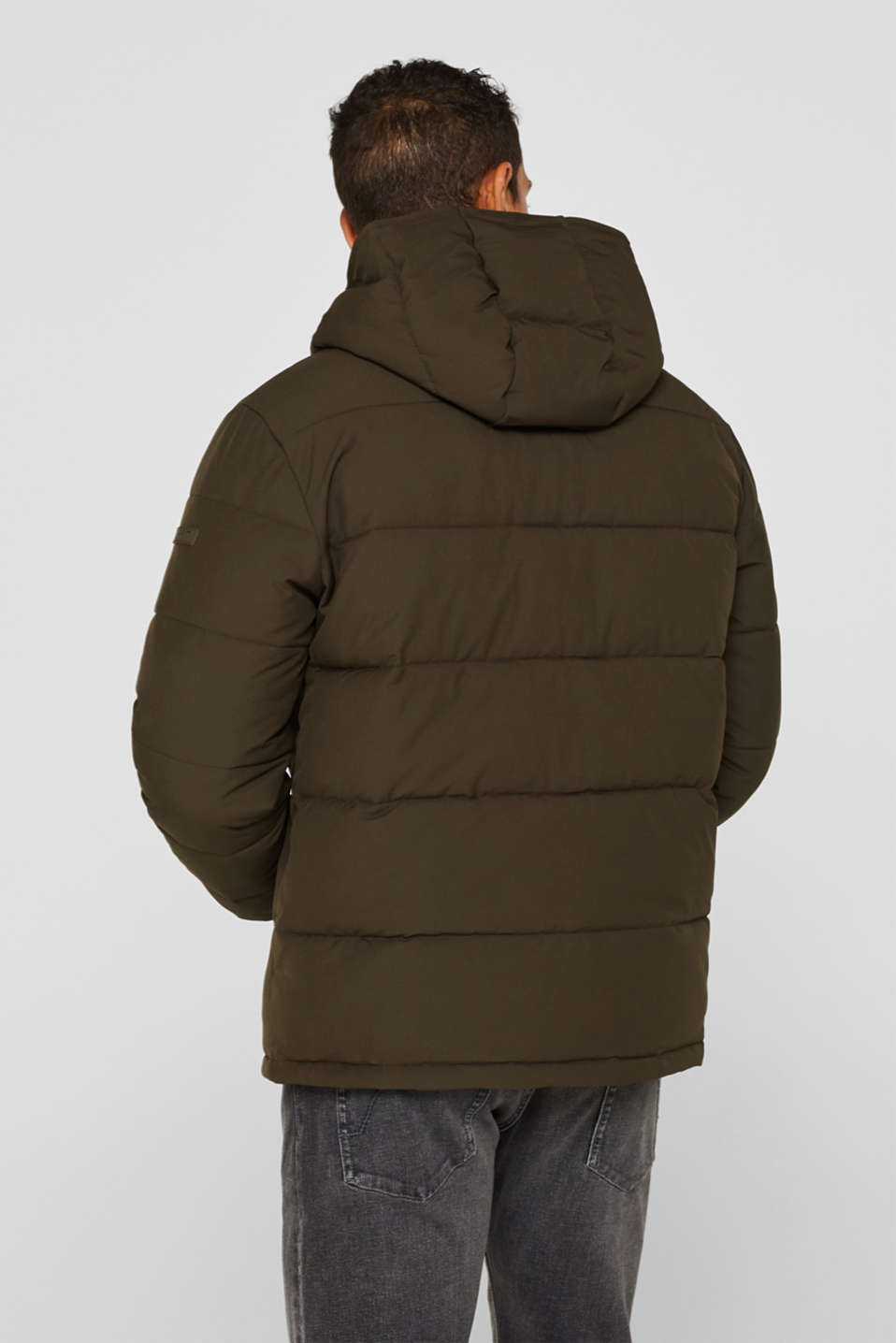 Quilted jacket with 3M™ Thinsulate™ padding, DARK KHAKI, detail image number 3