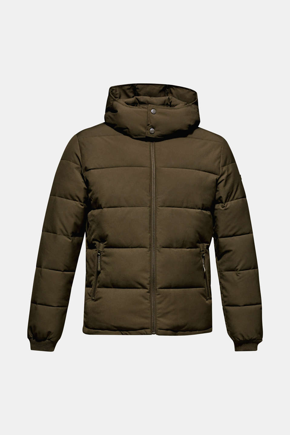 Quilted jacket with 3M™ Thinsulate™ padding, DARK KHAKI, detail image number 8