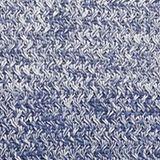 Melange textured jumper, 100% cotton, DARK BLUE, swatch