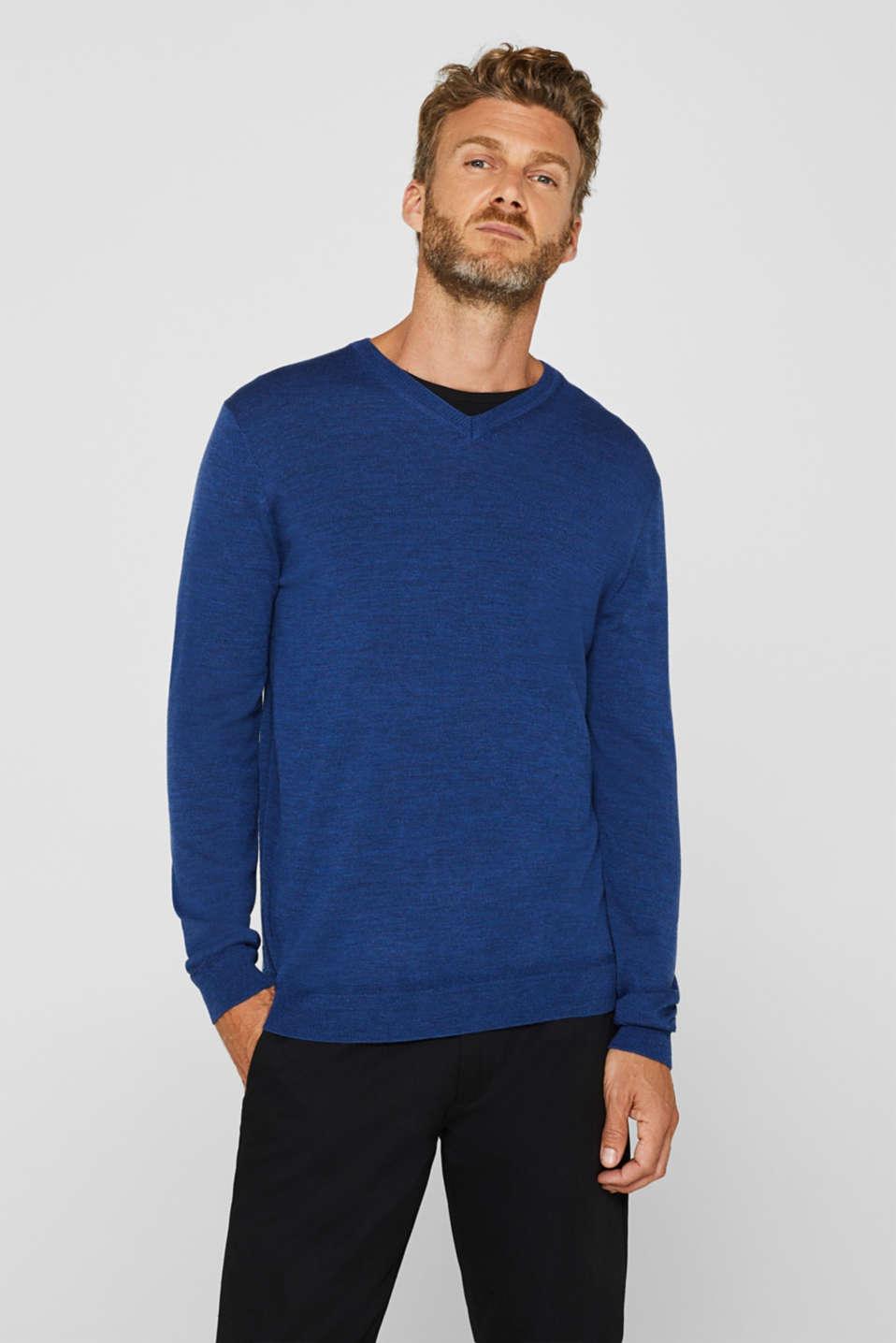 Sweaters, DARK BLUE, detail image number 0