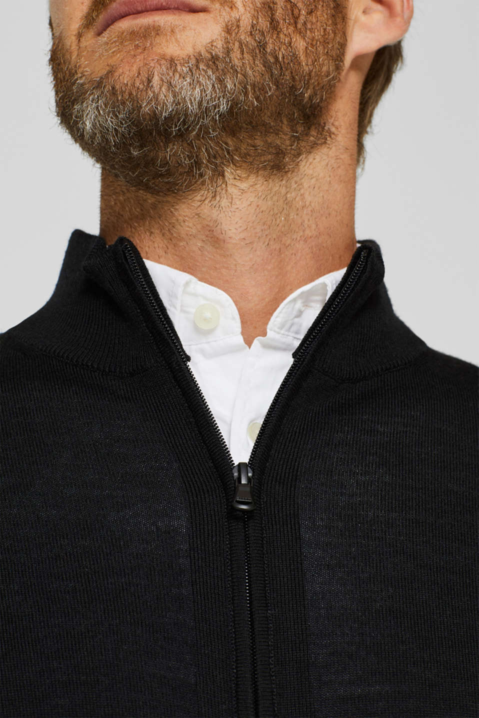 Sweaters, BLACK, detail image number 5
