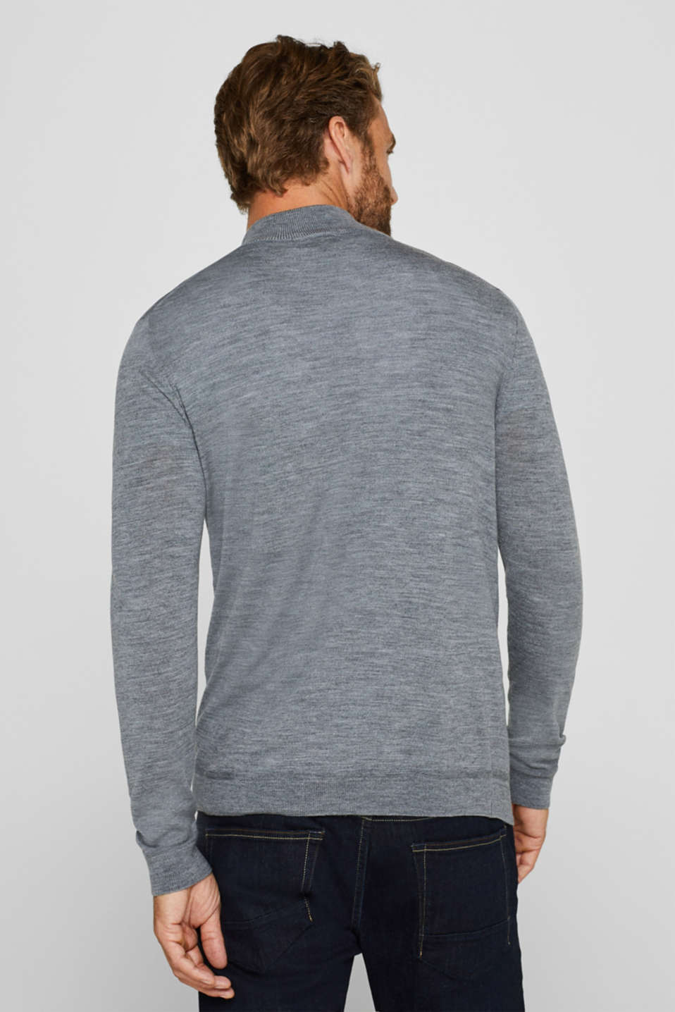 Sweaters, GREY, detail image number 3