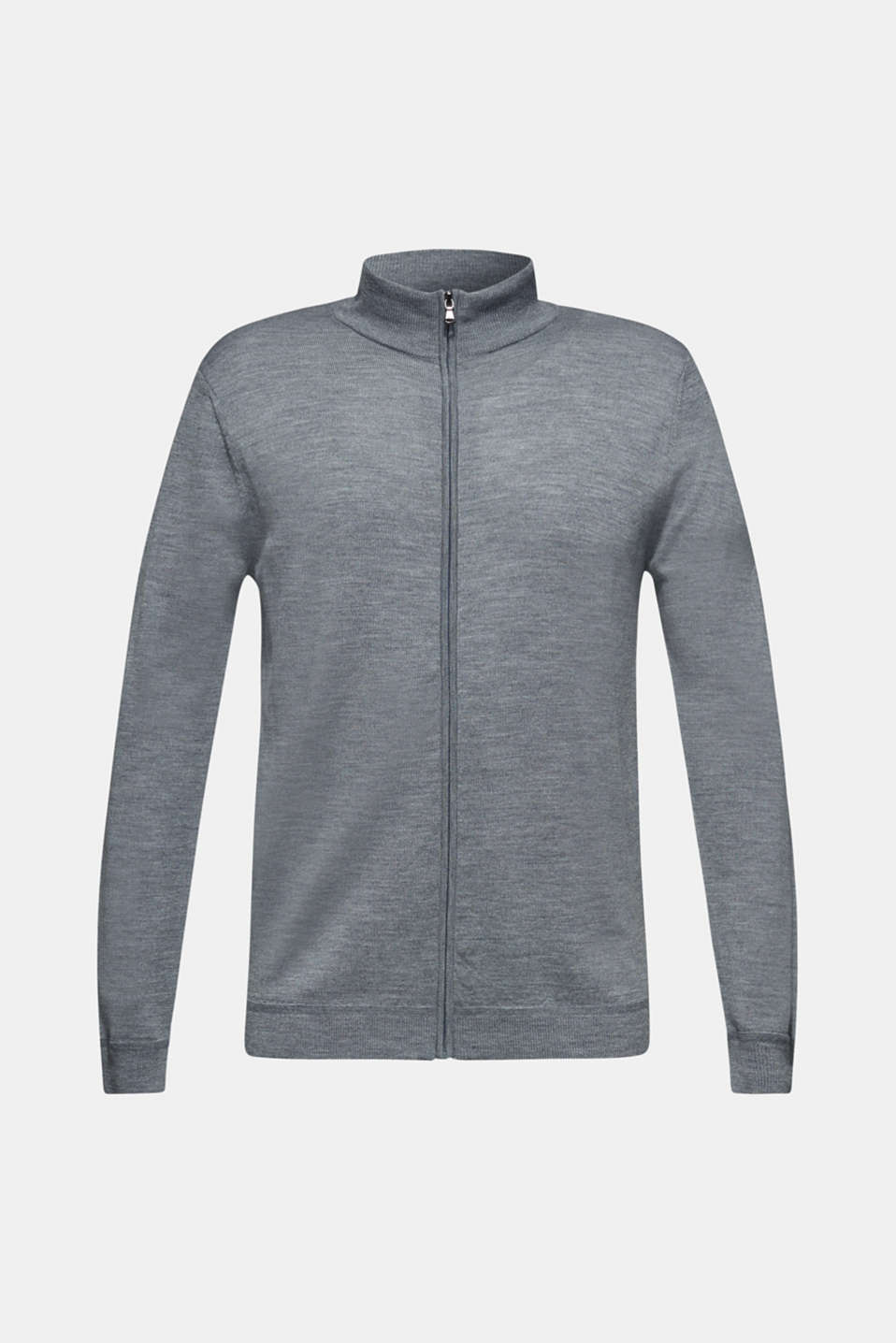 Sweaters, GREY, detail image number 8