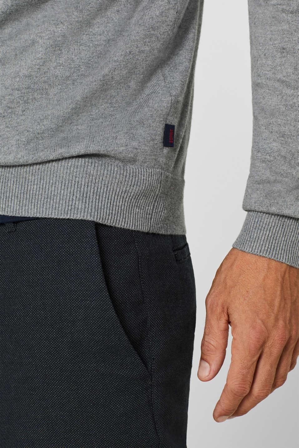 Sweaters, MEDIUM GREY, detail image number 6