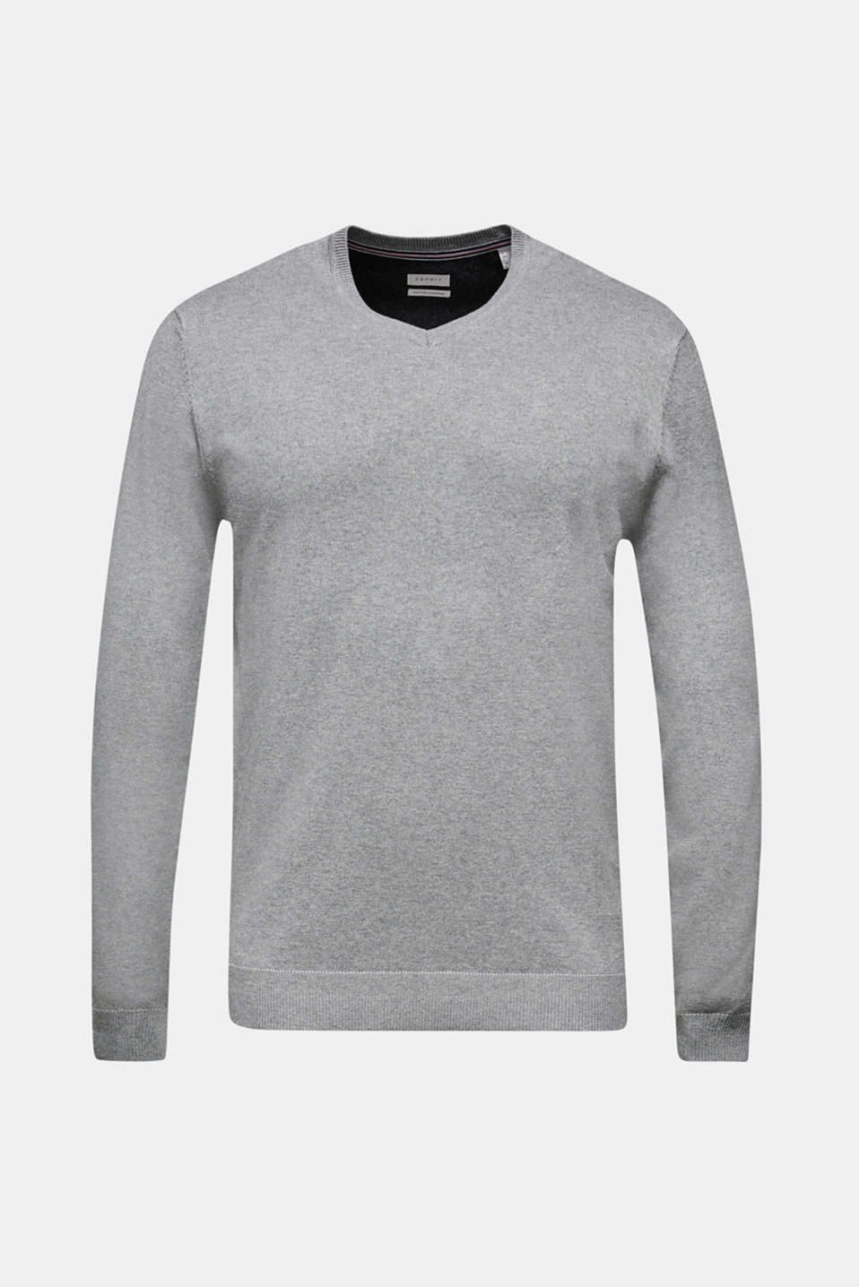 Sweaters, MEDIUM GREY, detail image number 8