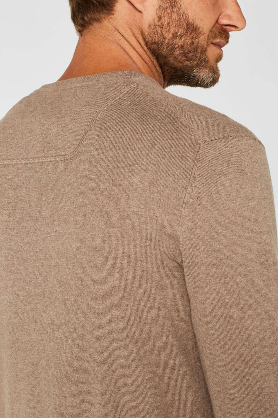 Sweaters, TAUPE, detail image number 5