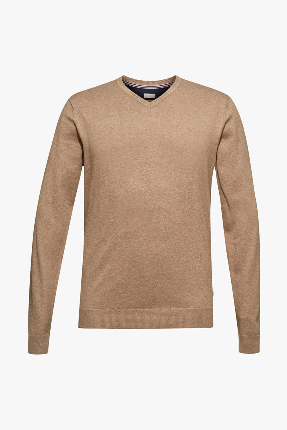 Sweaters, TAUPE, detail image number 6