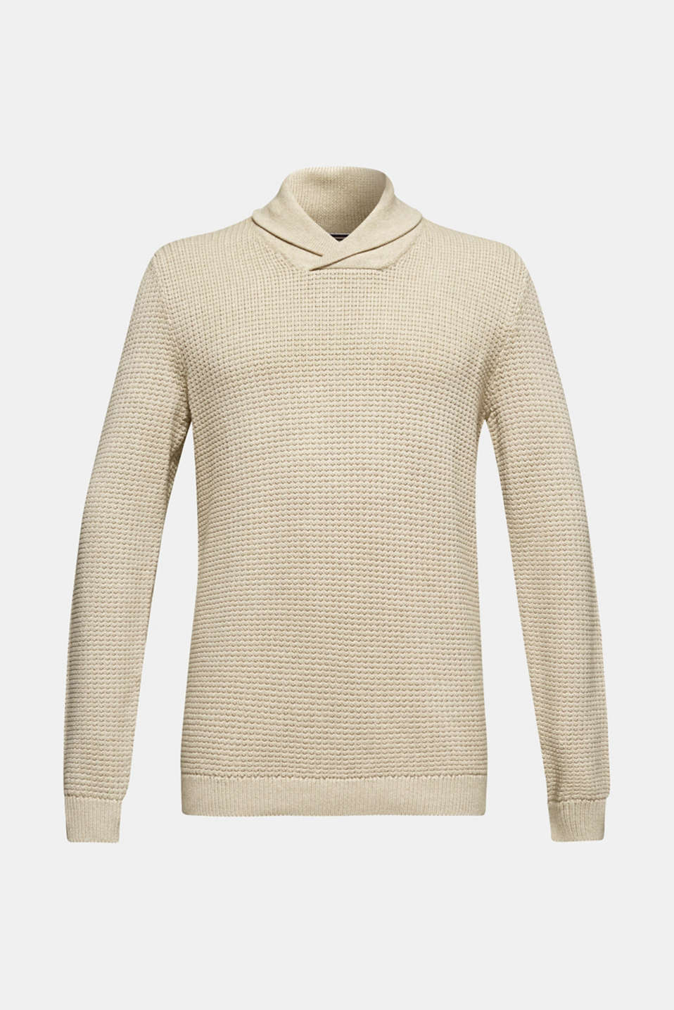 Sweaters, BEIGE, detail image number 5