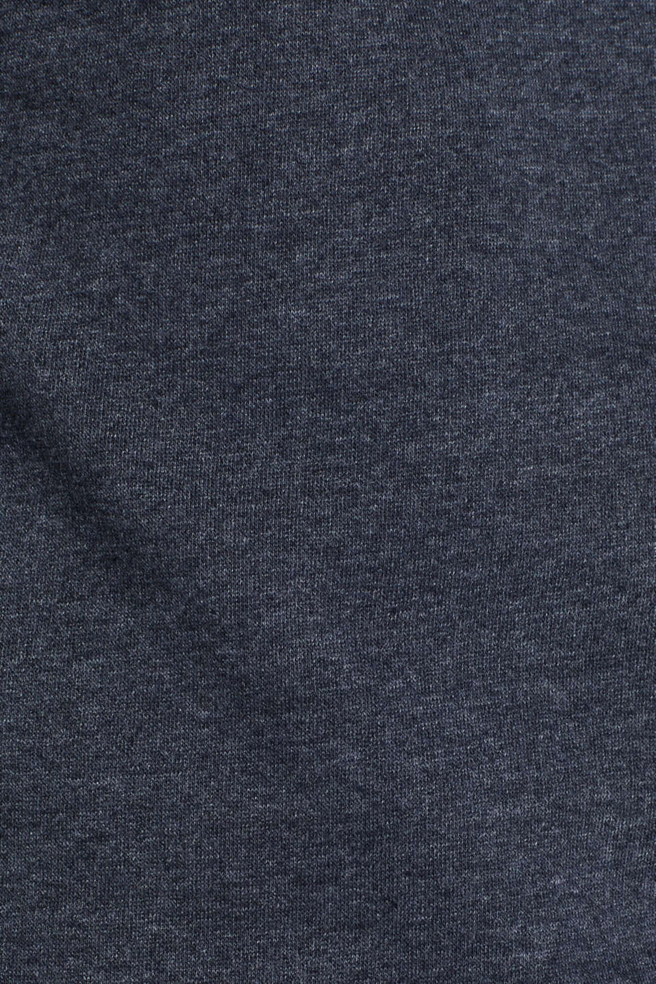 Sweatshirt with logo, 100% cotton, NAVY, detail image number 4