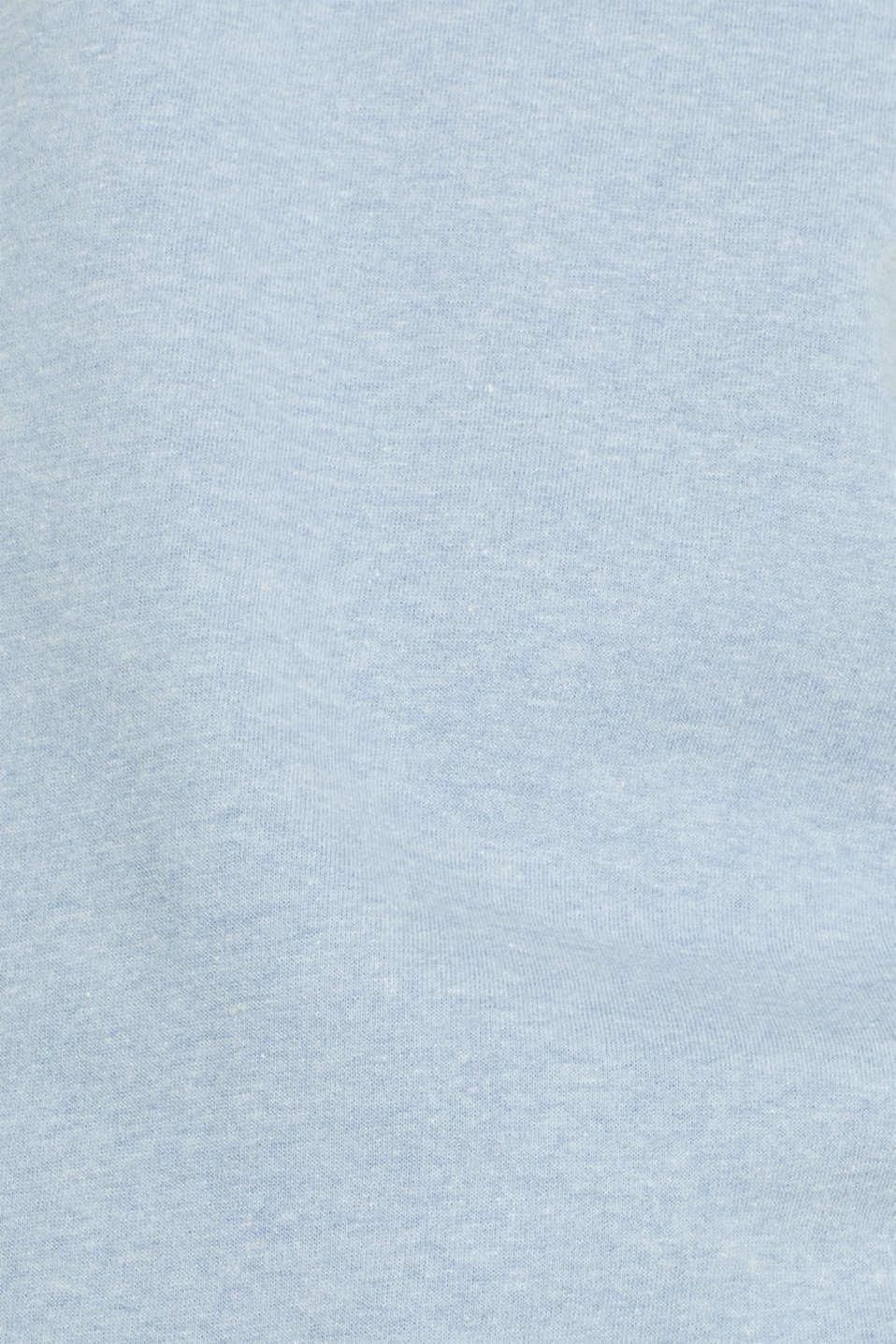 Sweatshirts, LIGHT BLUE, detail image number 4
