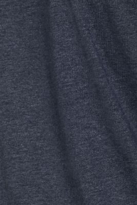 Long sleeve jersey T-shirt in a layered look
