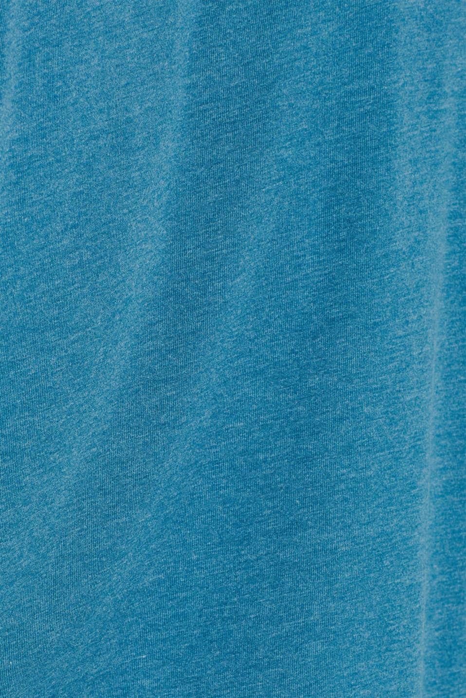 T-Shirts, PETROL BLUE, detail image number 4