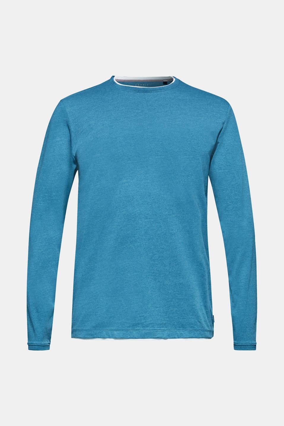 T-Shirts, PETROL BLUE, detail image number 7