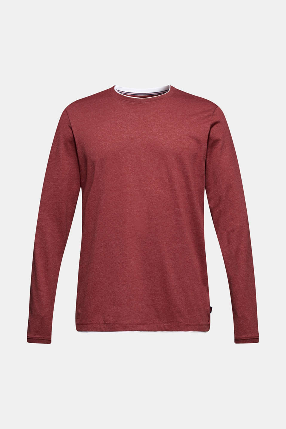 T-Shirts, BORDEAUX RED, detail image number 5