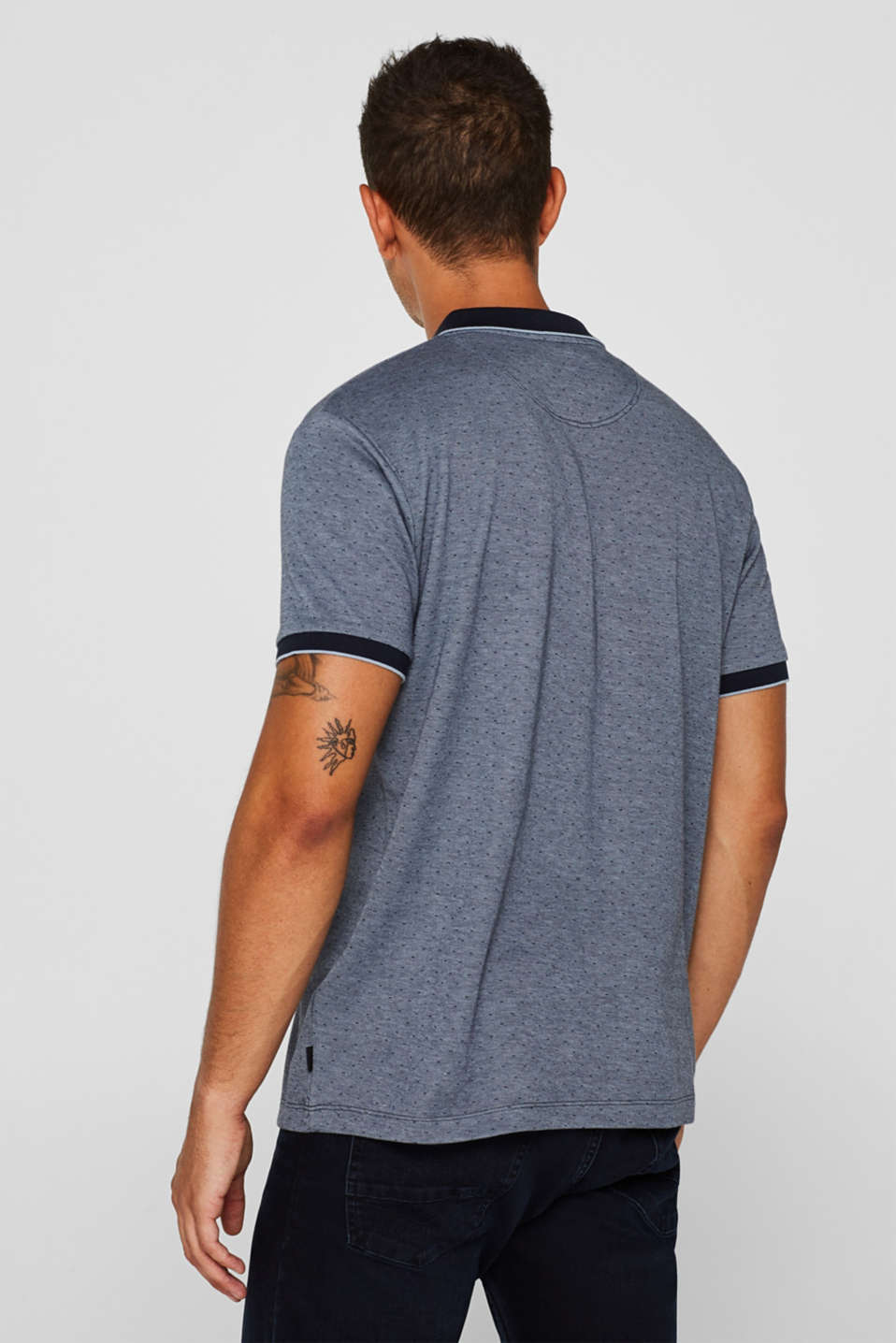 Polo shirts, NAVY, detail image number 3