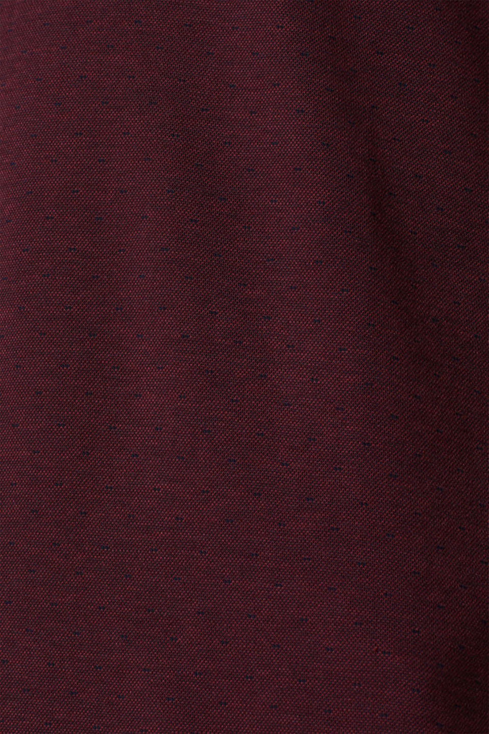 Polo shirts, BORDEAUX RED, detail image number 5