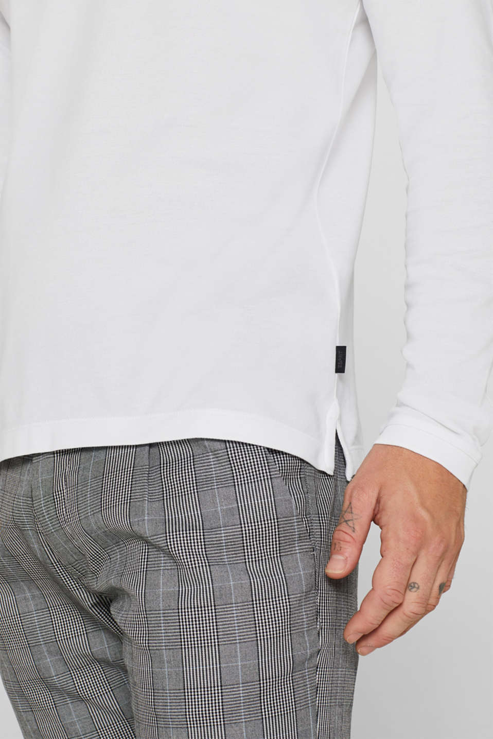 Piqué polo shirt made of 100% pima cotton, WHITE, detail image number 1