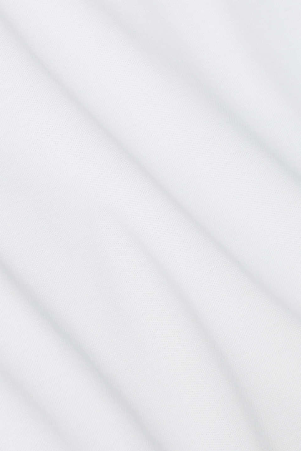 Piqué polo shirt made of 100% pima cotton, WHITE, detail image number 4