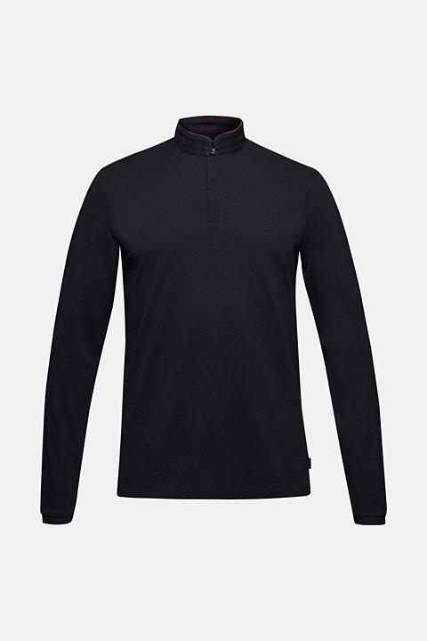 Piqué polo shirt made of Pima cotton
