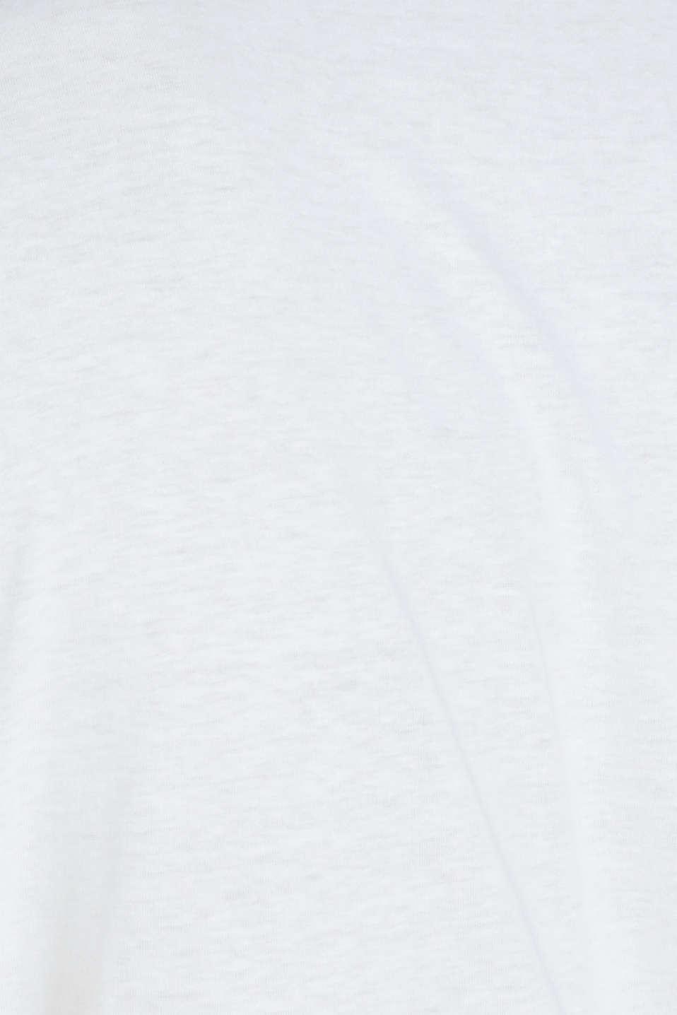 T-Shirts, WHITE, detail image number 4