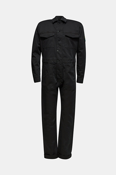 #throwback jumpsuit made of stretch cotton
