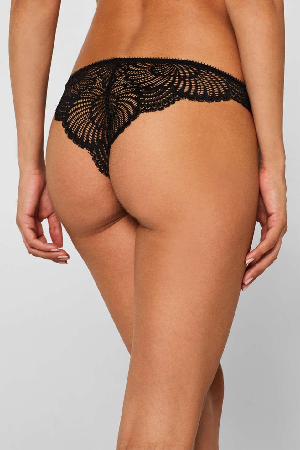 Bottoms, BLACK, detail image number 2