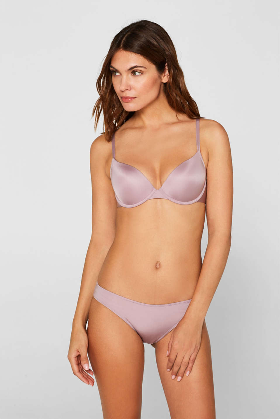 Esprit - Reggiseno push-up in stile basic