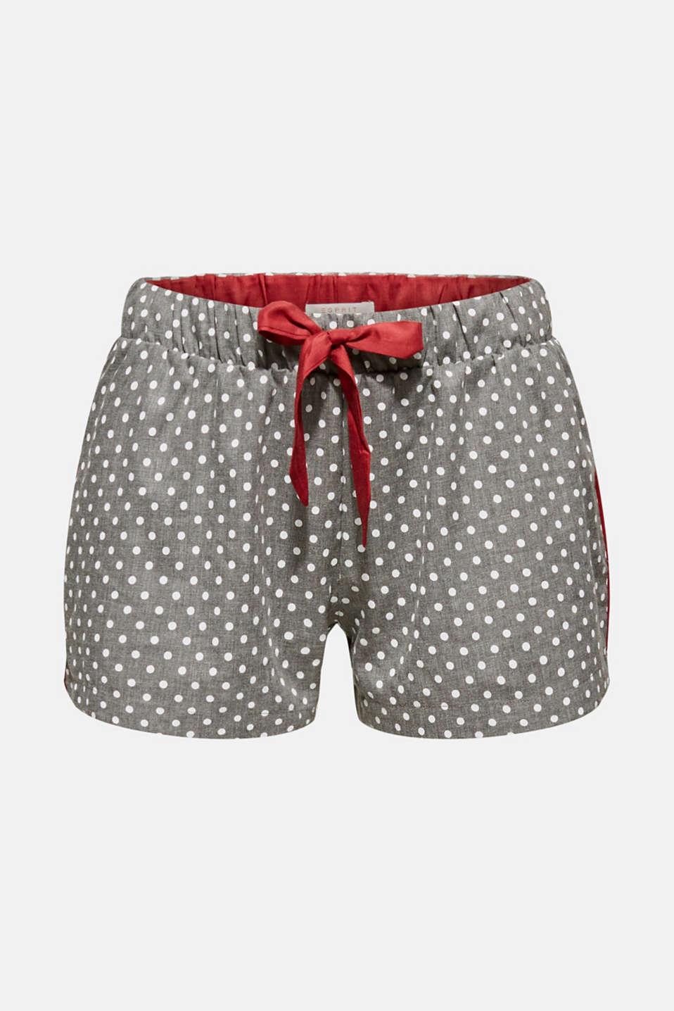 Pyjama bottoms, LIGHT GREY, detail image number 4