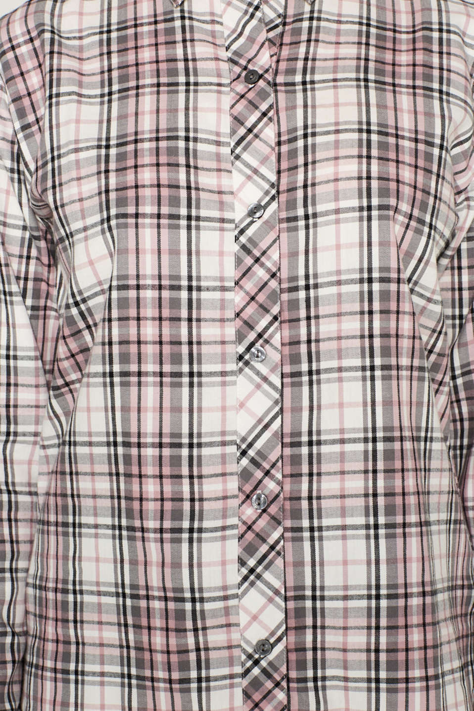 Flannel pyjamas, 100% cotton, OFF WHITE, detail image number 3