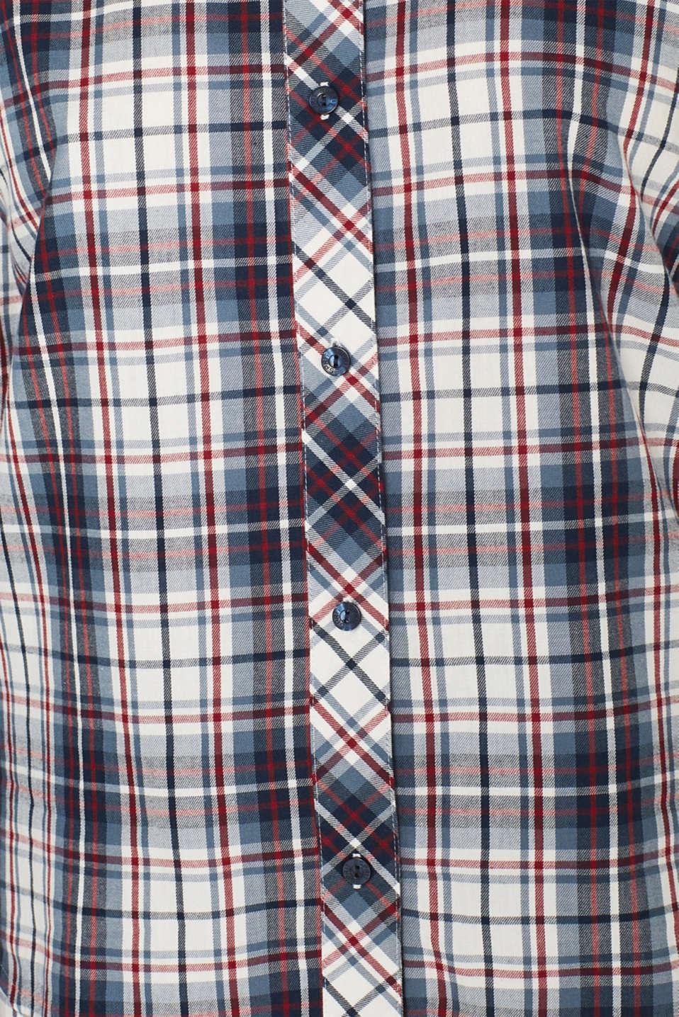 Flannel pyjamas, 100% cotton, NAVY, detail image number 3