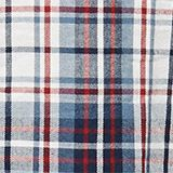 Flannel nightshirt made of 100% cotton, NAVY, swatch