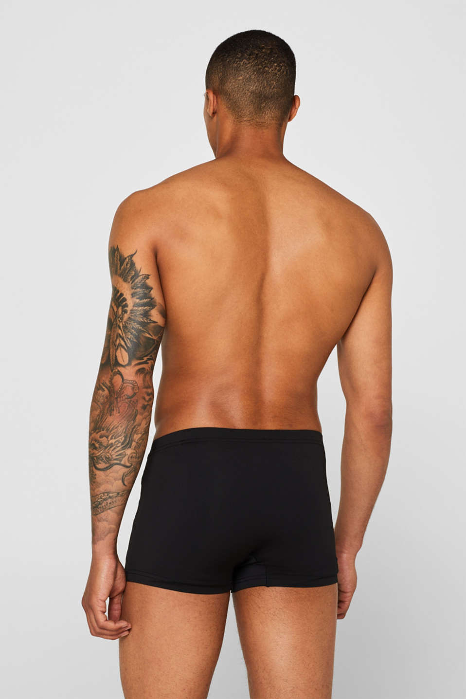 Double pack of retro shorts, BLACK, detail image number 1