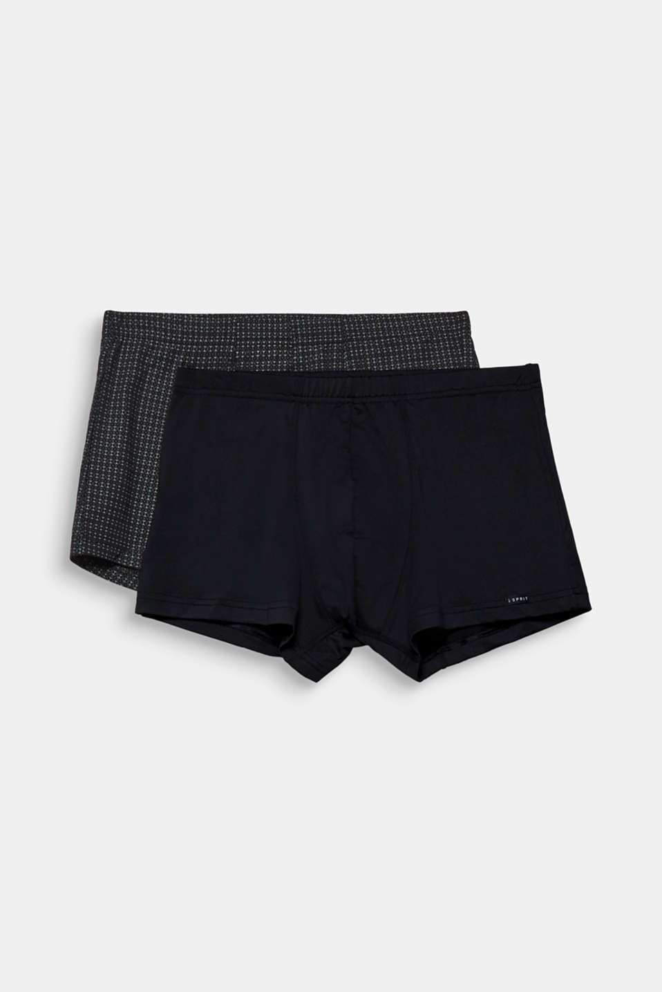 Double pack of retro shorts, BLACK, detail image number 3
