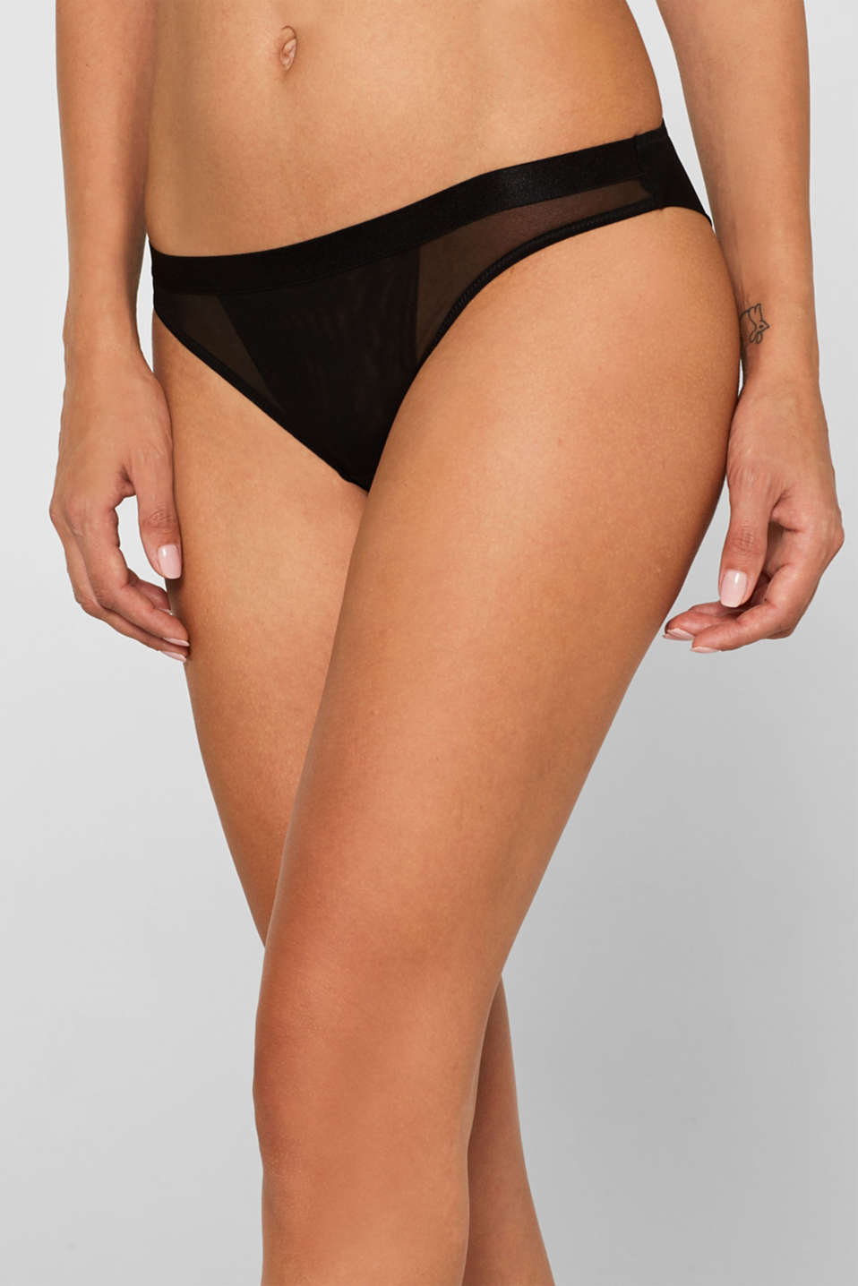 NYE hipster briefs made of mesh
