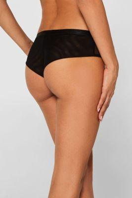 NYE Brazilian hipster shorts made of mesh