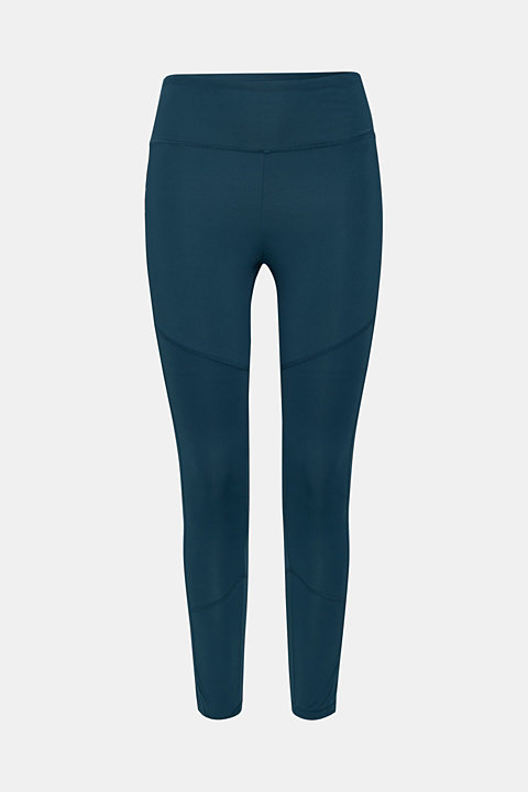 Cropped active leggings, E-DRY