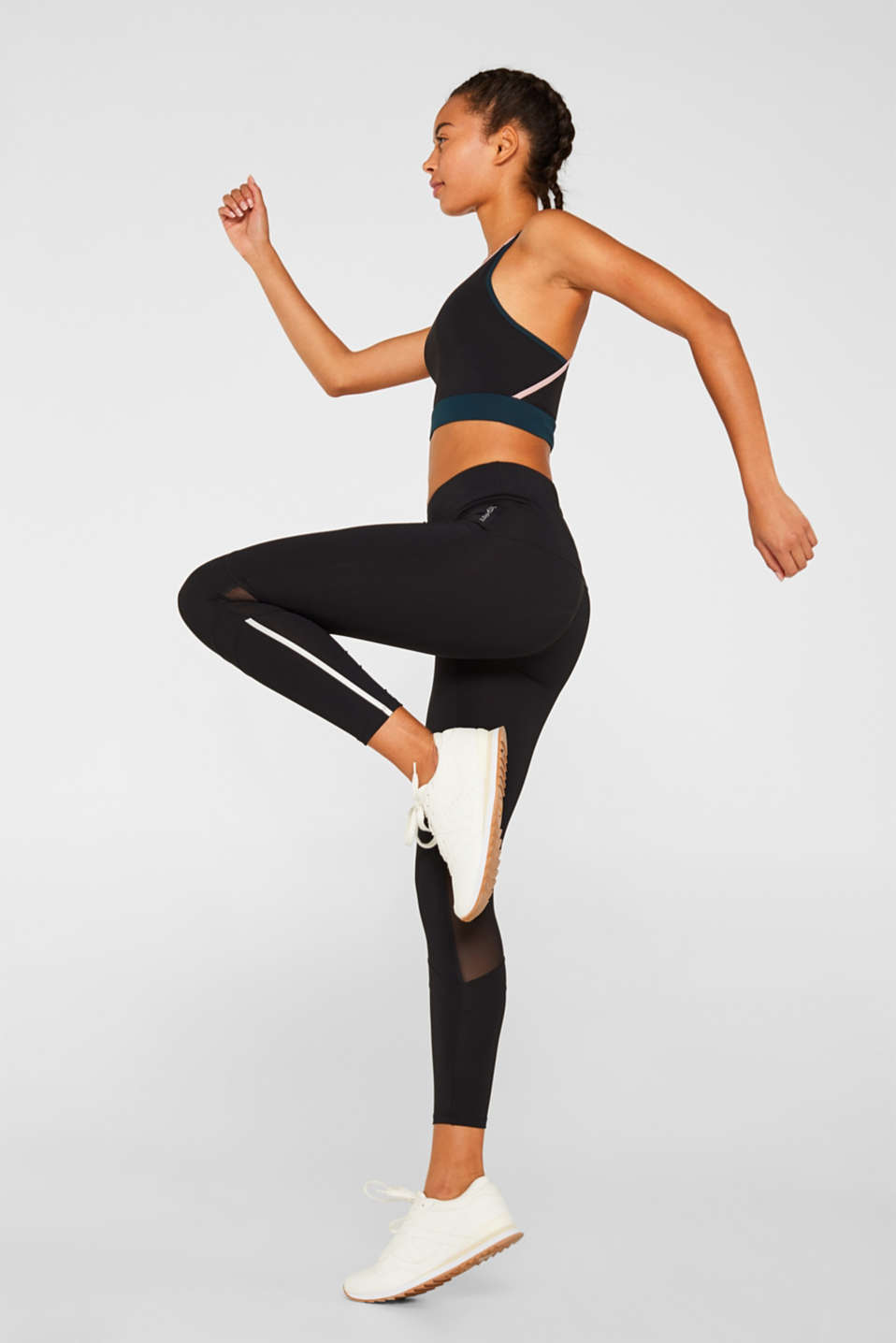 Esprit - Active leggings with reflectors, E-DRY