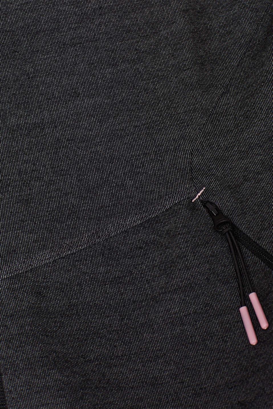 Sweatshirts cardigan, ANTHRACITE, detail image number 4