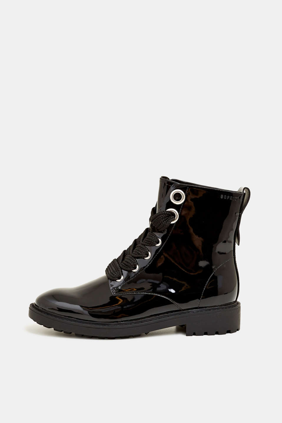 Esprit - Veterboots in gelakte look