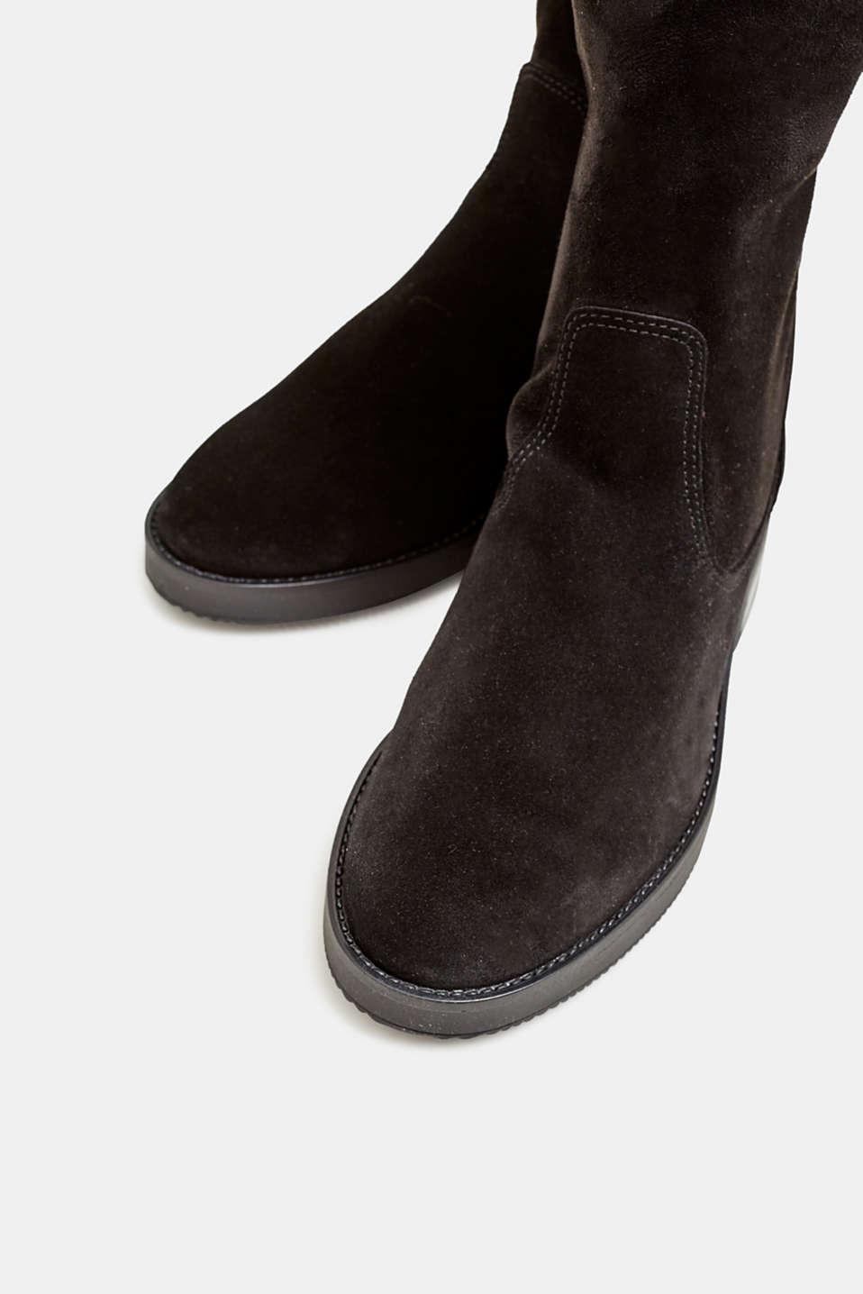 Formal Shoes textile, BLACK, detail image number 4