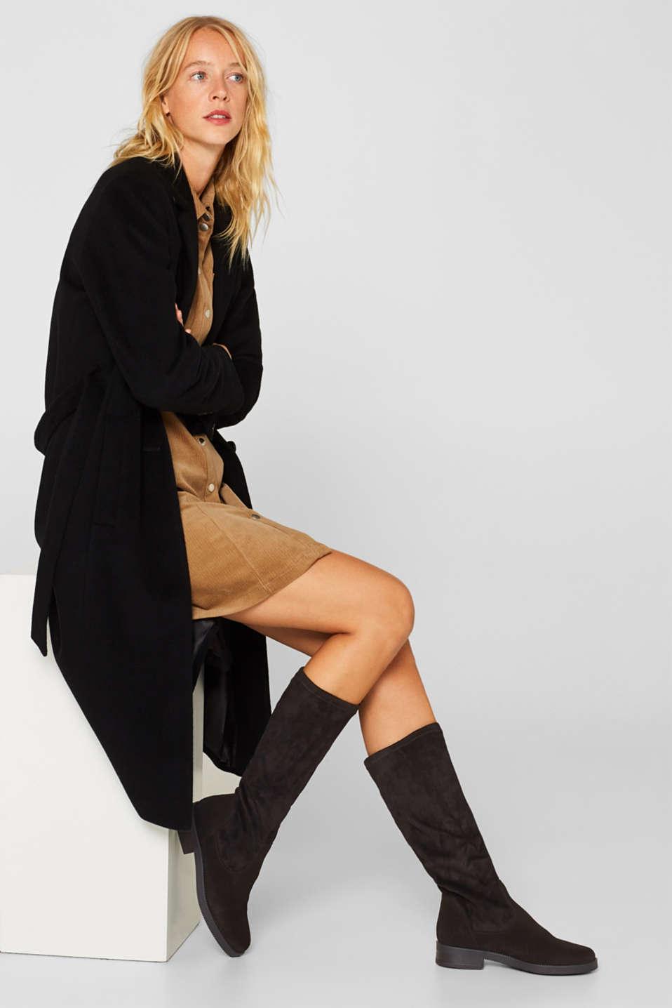 Formal Shoes textile, BLACK, detail image number 3