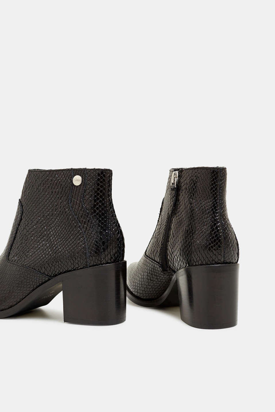 Formal Shoes leather, BLACK, detail image number 5
