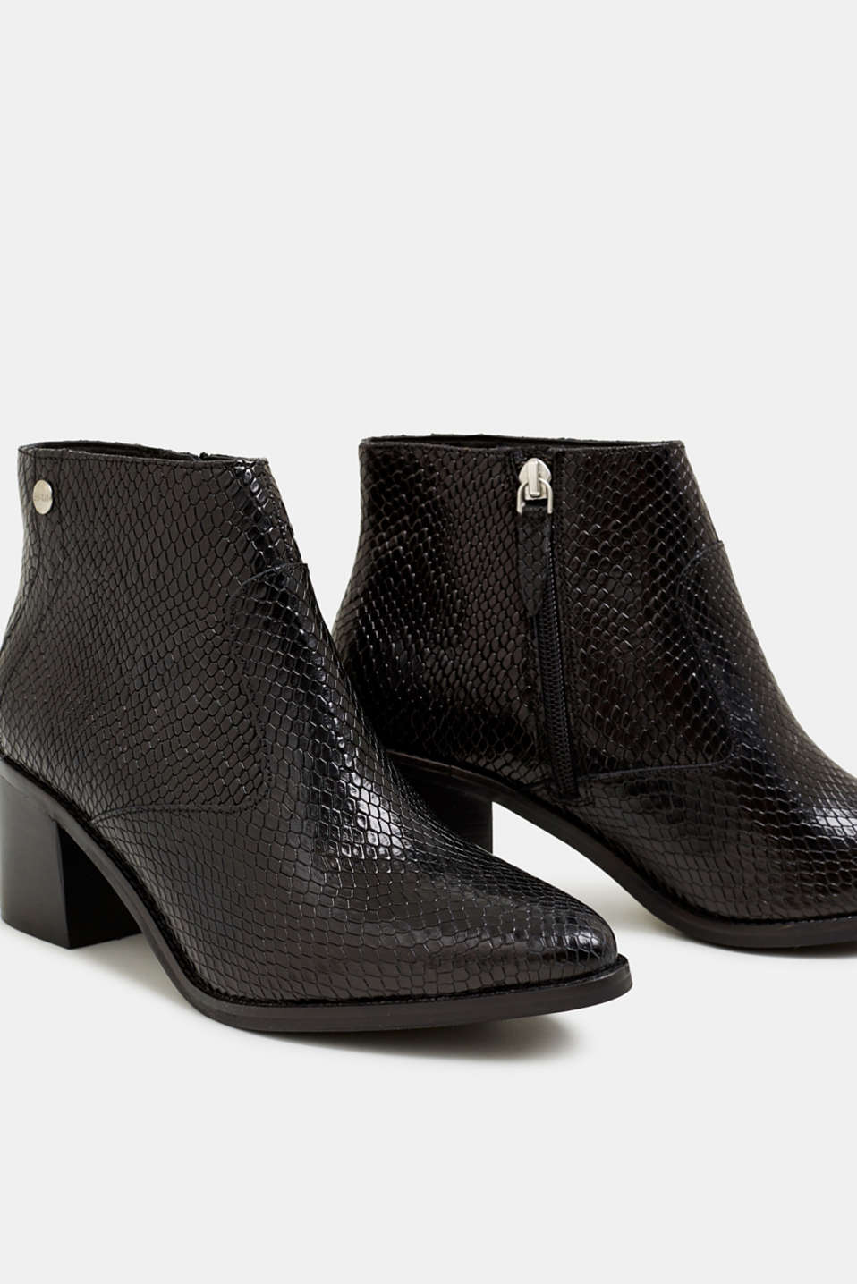 Formal Shoes leather, BLACK, detail image number 4